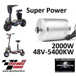 Motor 1600W scooter electrico Brushless