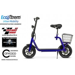 Patinete-Scooter Eléctrico tipo moto, motor 350W